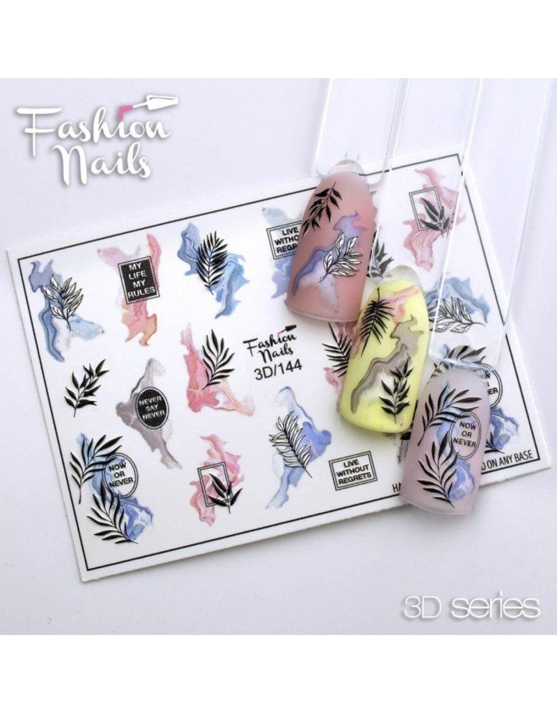 Nail Wraps 3D 144