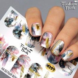 Nail Wraps metallic m297