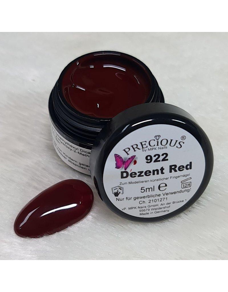 Precious Farbgel 922 Dezent Red