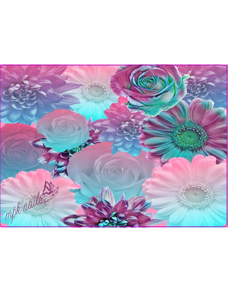 "Arbeitsunterlage ""Pastel Flowers"""