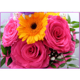 """Arbeitsunterlage """"Flowers for Melanie"""""""