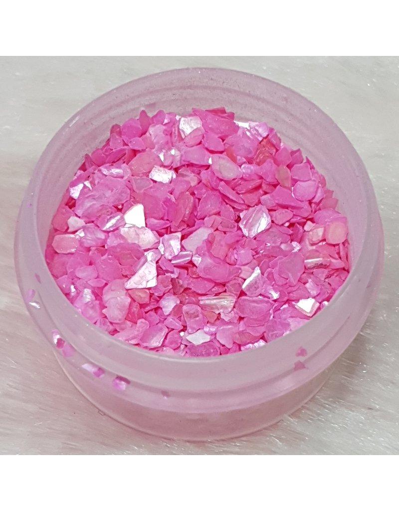 Nail Art Muschelsplitter 01) Pink