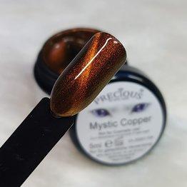 Mystic Cat Eye Farbgel Copper semi-opak