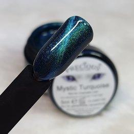 Mystic Cat Eye Farbgel Turquoise semi-opak
