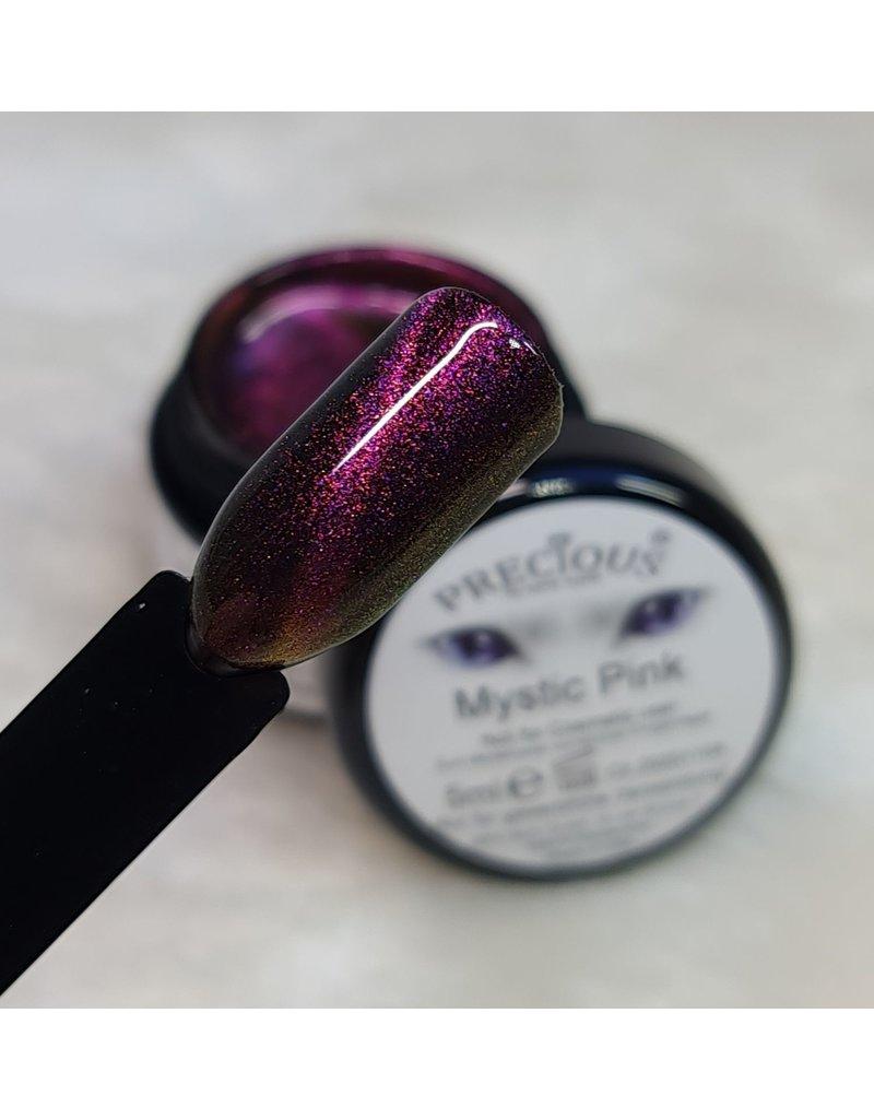 Mystic Cat Eye Farbgel Pink semi-opak