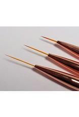 Nail Art Liner Rosé - 3er Set
