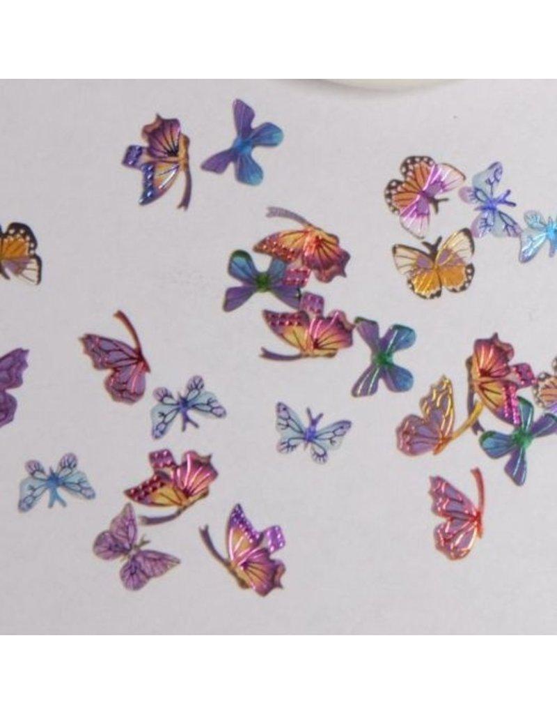 Nail Art Einleger Schmetterlinge