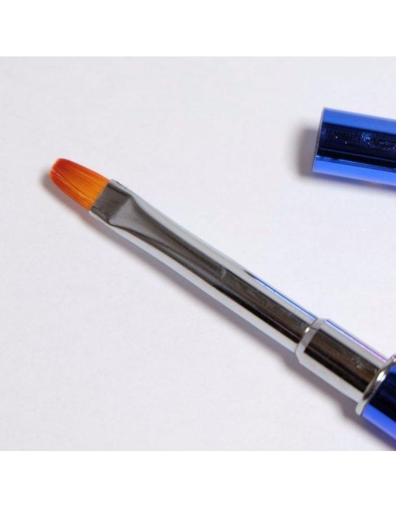 Acrylgel Pinsel mit Spatel, Rainbow