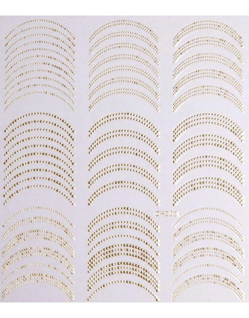 Nail Sticker gold - DP 302