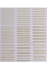 Nail Sticker gold - DP 303