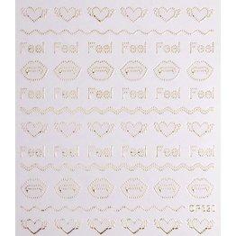 Nail Sticker gold - DP 320