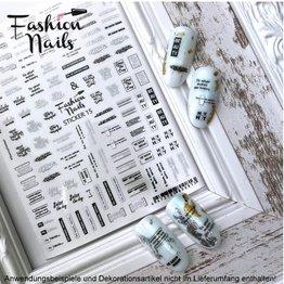 Fashion Nail Sticker ST15