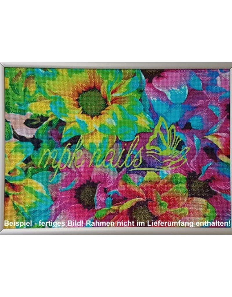 "Diamond Painting  ""Crazy Flower"" 50x70 cm"