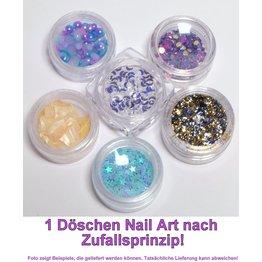 1x Nail Art im Döschen ZUFALL