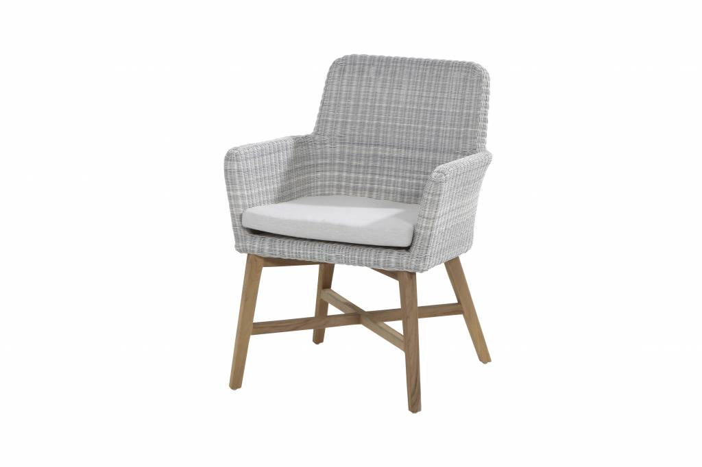 Awesome Dining Chair Lisbon With Teak Or Aluminium Legs Unemploymentrelief Wooden Chair Designs For Living Room Unemploymentrelieforg