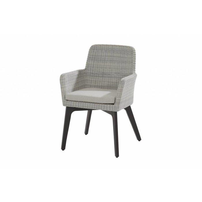 Dining chair Lisbon with teak or aluminium legs