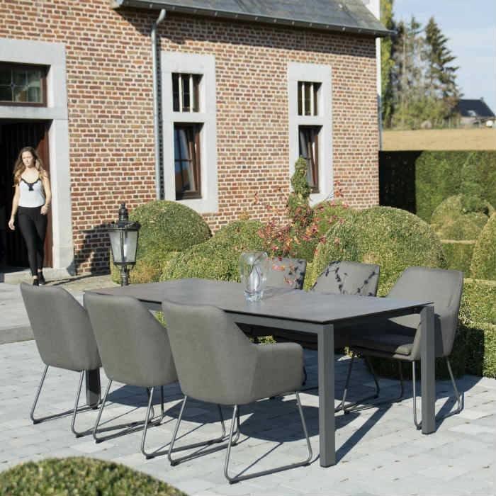 Amora Gartenset mit Tisch