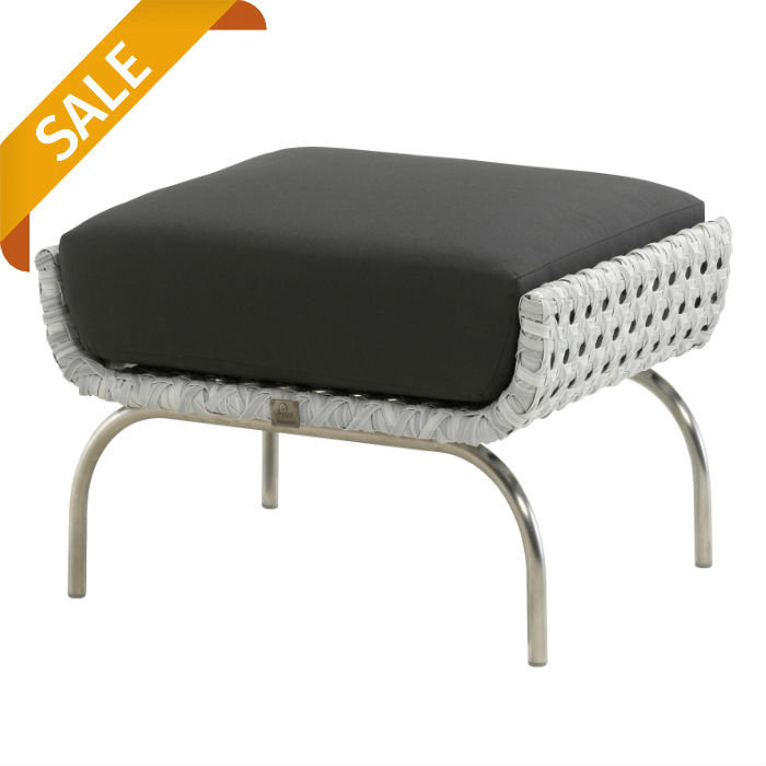 Luton Sessel mit hocker