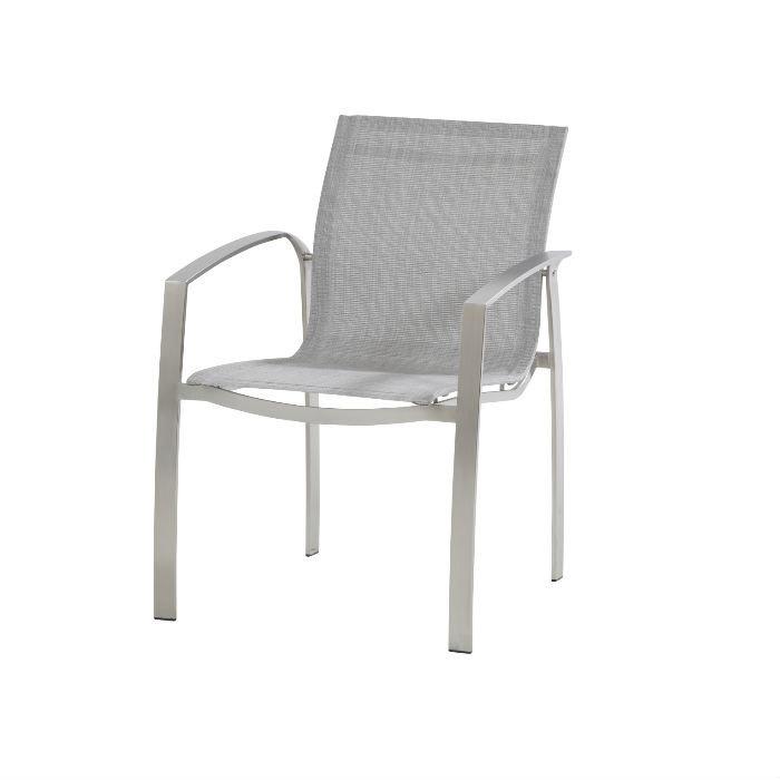 Summit deckchair with footstool