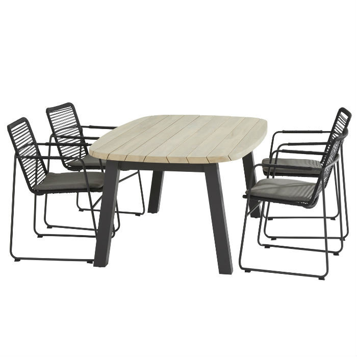 Diningset Elba with derby table