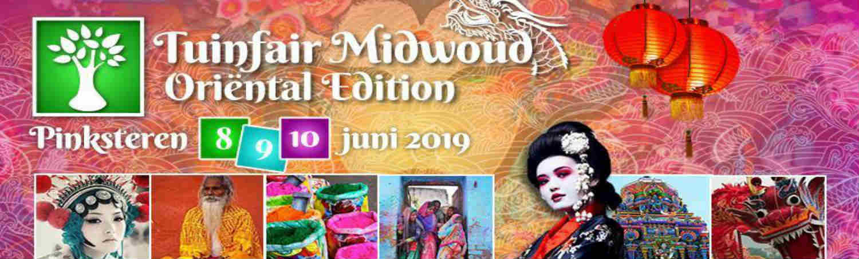 Gartenmesse Midwoud während Pfingsten 2019