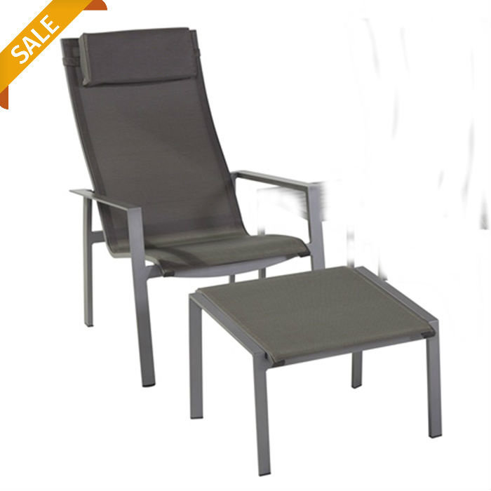 Apollo relaxchair with foothocker