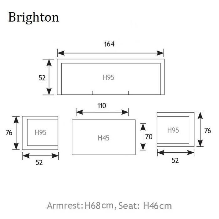 Brighton Loungeset