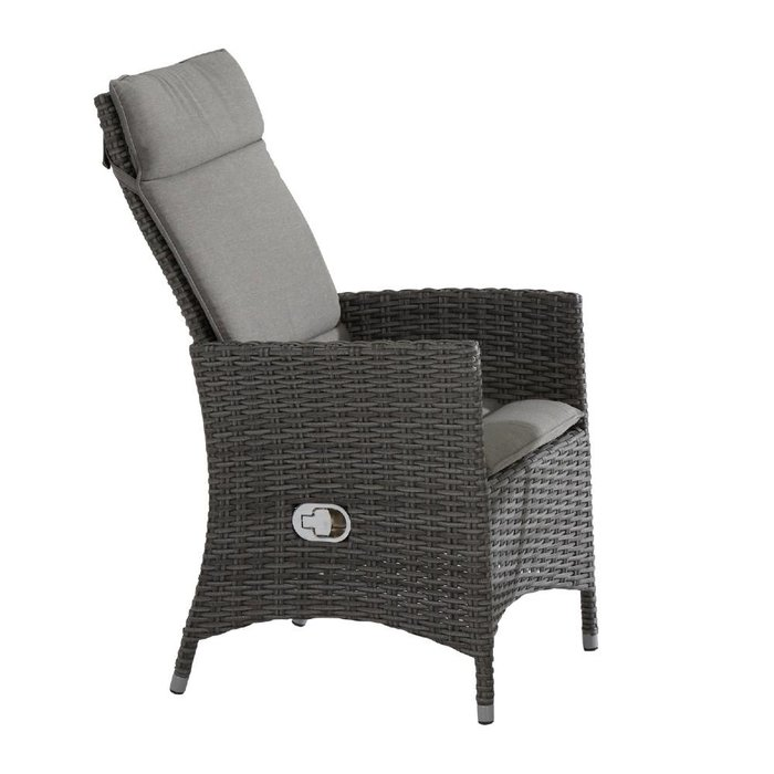 Bolzano adjustable dining chair Nero