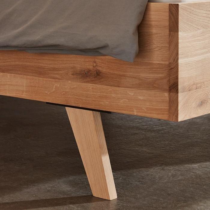 Rough massief houten bed