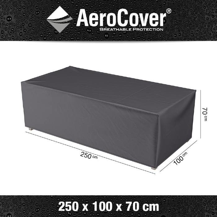 Lounge bench cover rectangle 250 cm