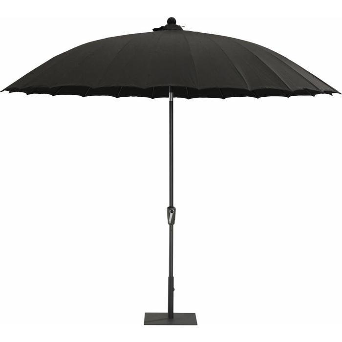 Parasol Shanghai black 250 cm