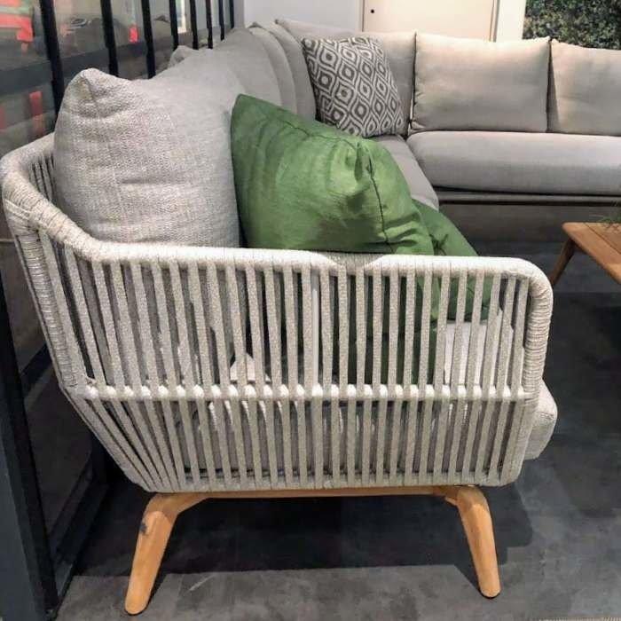 Raphael Garten sofa 4 sitzer