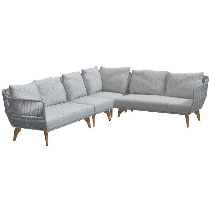 Raphael 4 zits loungebank tuin