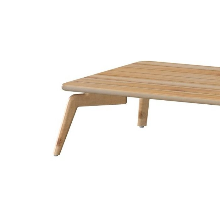 Zucca teak tafel 120 x 70 cm