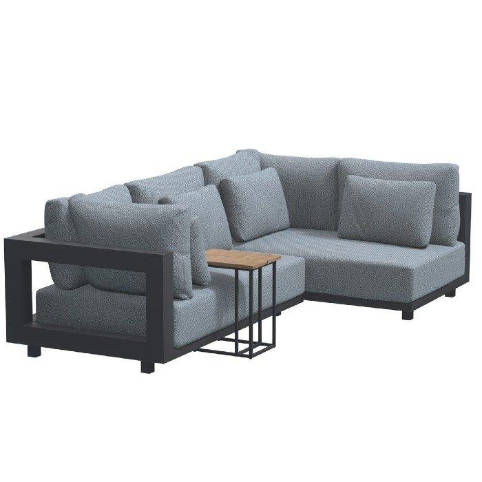 Metropolitan chaise loungebank