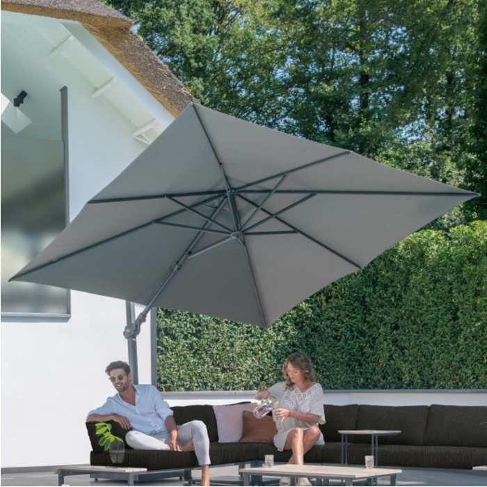 Siesta Premium parasol charcoal