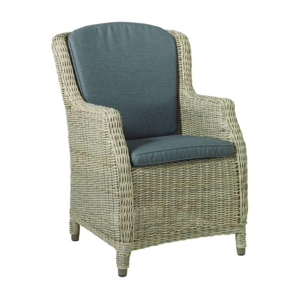 4 Seasons Outdoor Brighton Garden Dining Chair With Two Cushions Springbed Mattress Outdoor Furniture Gascylinders