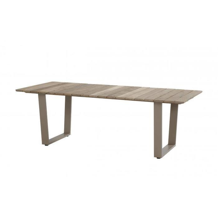 Cricket garden table Frost Grey