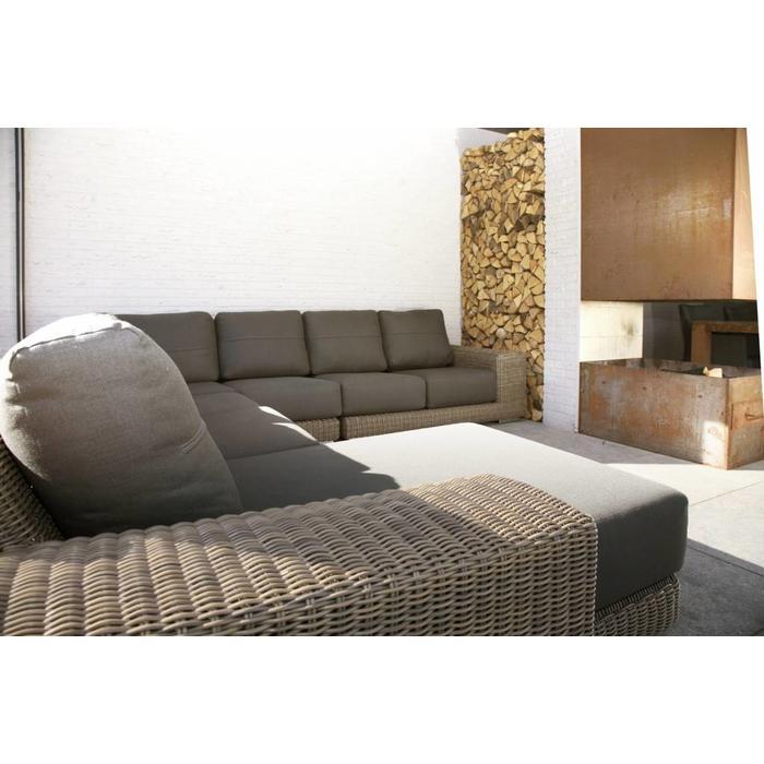 Kingston loungeset with teak platform
