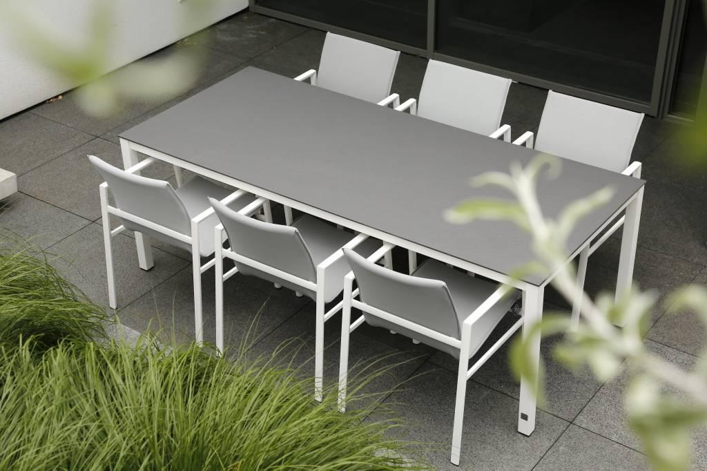 Albion Gartenmöbelset Aluminium weiß   Boxspringbett   Matratze   Gartenmöbel   Gasflasche