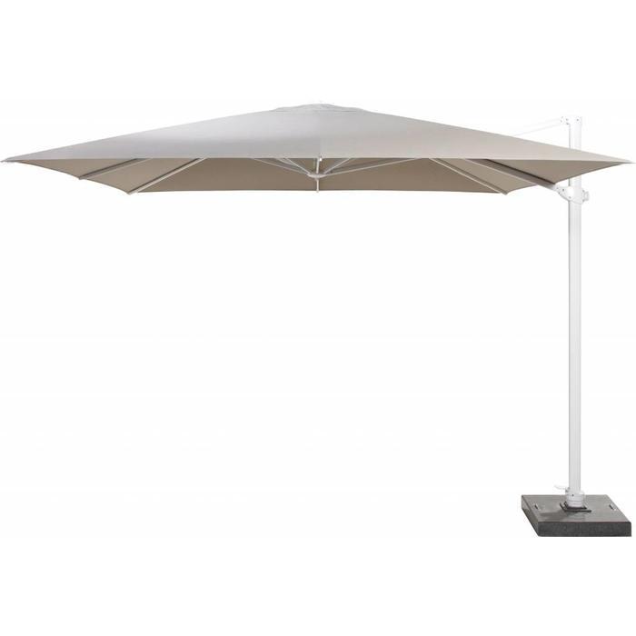 Free arm parasol Siesta Taupe 300 x 300 cm
