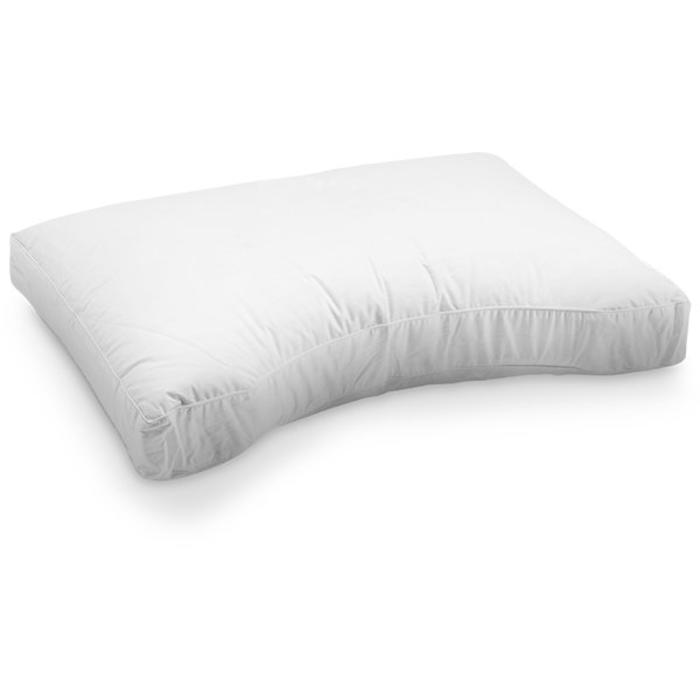 Talalay latex goose feather pillow medium