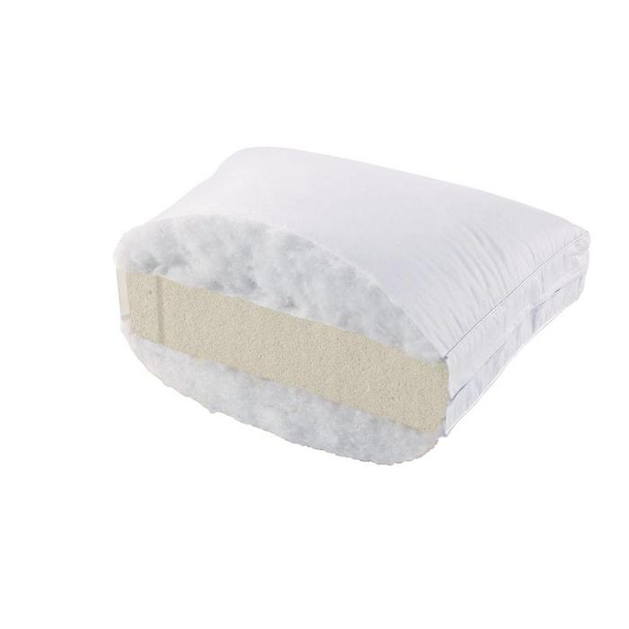 Talalay latex goose feather pillow soft