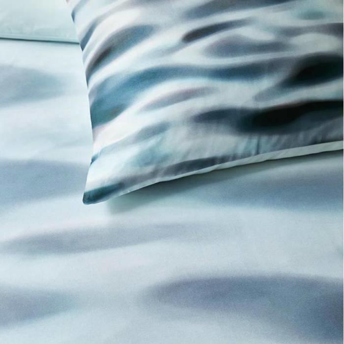 Kardol en Verstraten dekbedovertrek Fluid Bluegrey