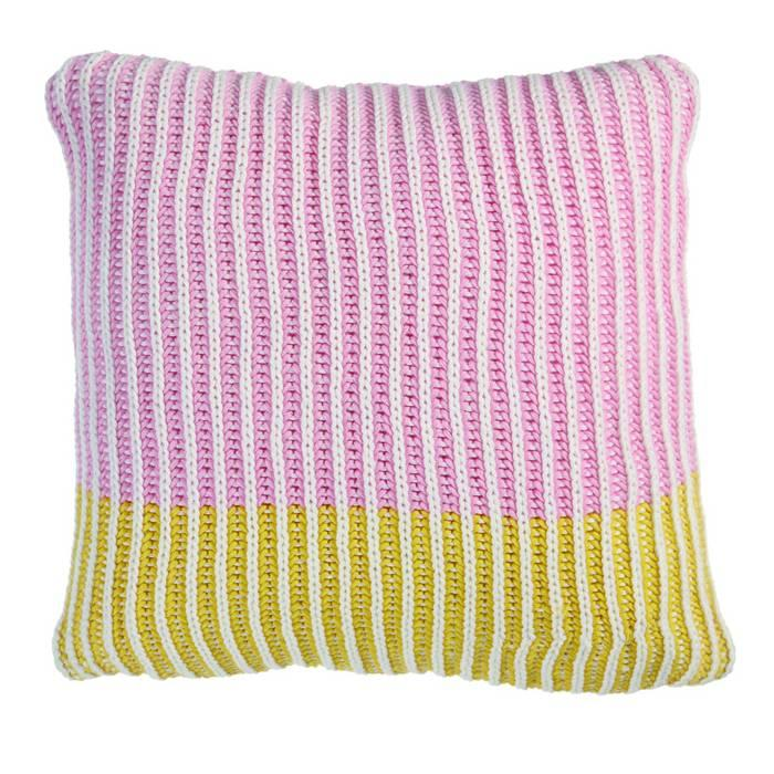 Kaat Amsterdam decorative pillow Petter Pink