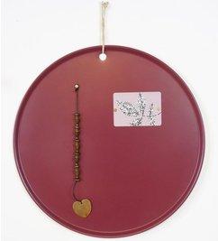 E|L by DEENS.NL-collectie Blackboard MARIE wine red
