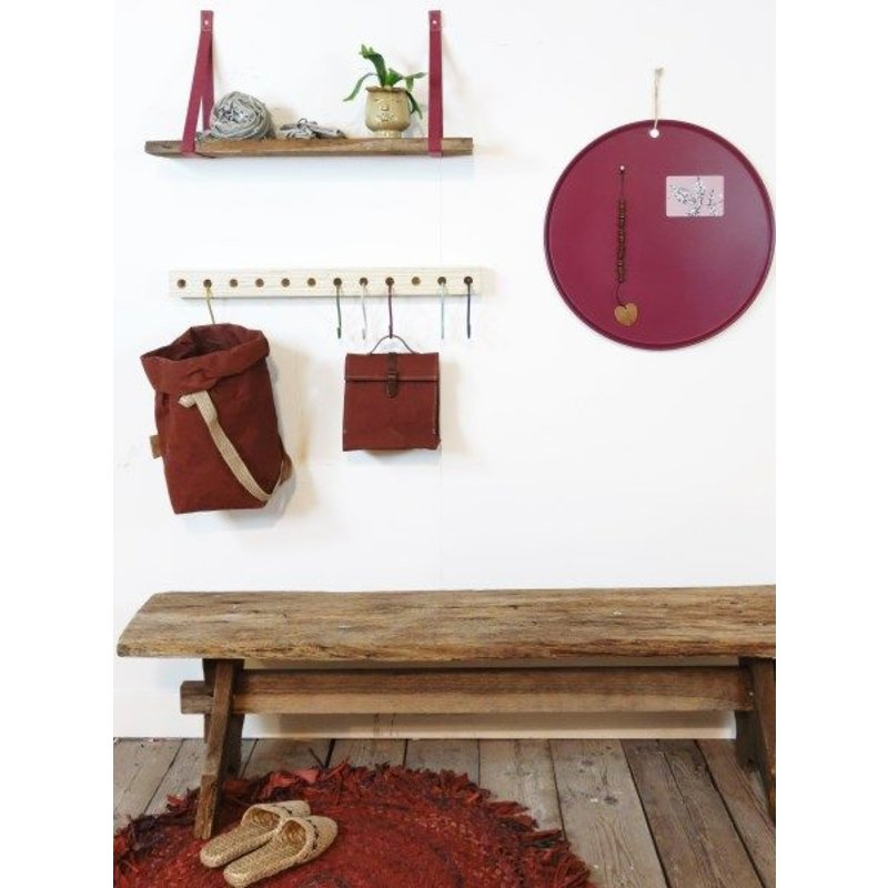 E L by DEENS.NL-collectie Blackboard MARIE wine red