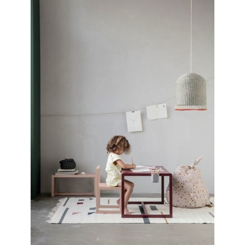 ferm LIVING-collectie Little bench Architect - Rose