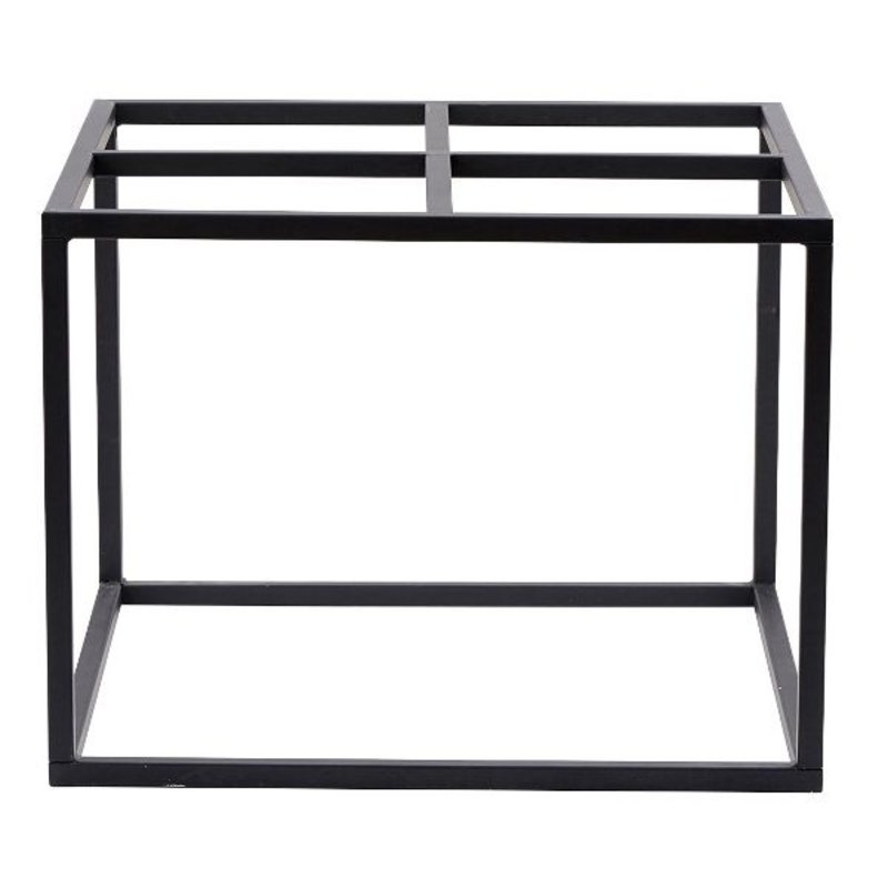 House Doctor-collectie House Doctor table base - Matt black 60x60 cm