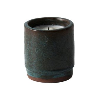 ferm LIVING Scented candle ceramic - Green